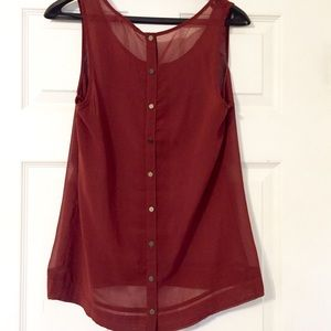 One Clothing button back tank